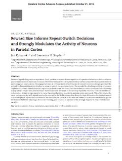 Research paper accepted in Cerebral Cortex